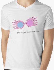 You're just as sane as I am Mens V-Neck T-Shirt