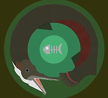 Alligator Gar by Patrick Sluiter