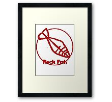 Rock Fish Framed Print