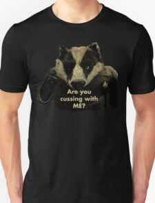 Arguing with a Badger T-Shirt