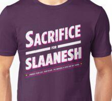 Sacrifice for Slaanesh - Damaged Unisex T-Shirt