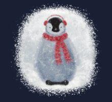 Chilly Little Penguin Kids Tee