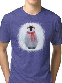 Chilly Little Penguin Tri-blend T-Shirt