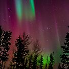Red Auroras 2 by peaceofthenorth