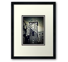 Safe In The Tower Framed Print