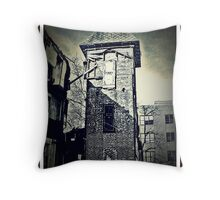 Safe In The Tower Throw Pillow