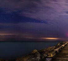 Geminid Meteor by BradKphoto