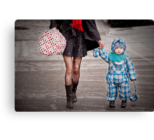Mittens Attached Canvas Print