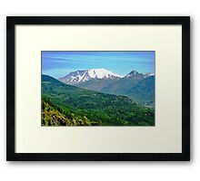 Mount Saint Helens National Monument Framed Print