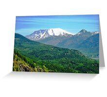 Mount Saint Helens National Monument Greeting Card