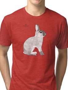 rabbit, agouti sable colour Tri-blend T-Shirt