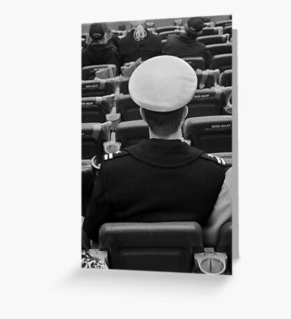 Army vs. Navy 2012 Greeting Card