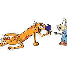 Catdog and Rocko's modern life by Tetiana Pomazan