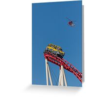 The Roller Coaster Greeting Card