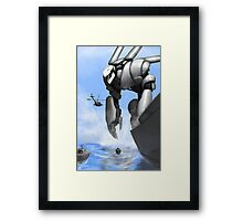 Sea Beast Framed Print