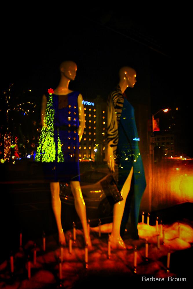 Window Shopping by Barbara  Brown