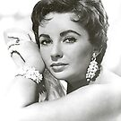 Elizabeth Taylor iPad Case by ipadjohn
