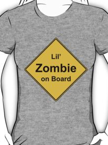 Lil' Zombie On Board T-Shirt
