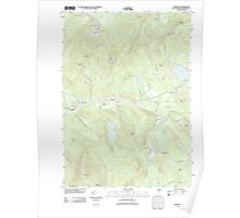 USGS TOPO Map New Hampshire NH Andover 20120508 TM Poster