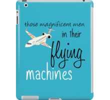 Cabin Pressure's Magnificent Men cover iPad Case/Skin