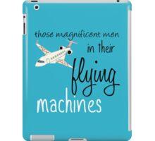 Cabin Pressure's Magnificent Men cover iPad Case/Skin