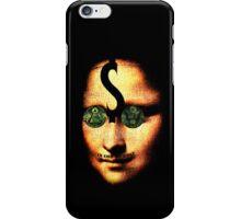 monalisa ill minutia iPhone Case/Skin