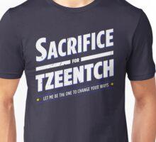 Sacrifice for Tzeentch - Damaged Unisex T-Shirt