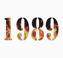 1989 Fire One Piece - Long Sleeve