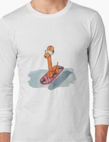 Hover Giraffe Long Sleeve T-Shirt