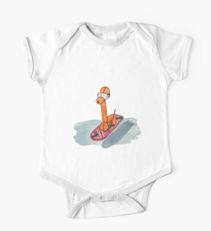 Hover Giraffe One Piece - Short Sleeve