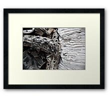 Old Air Filters Framed Print