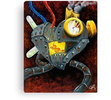 My rusted heart Canvas Print