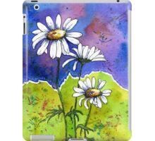 Daisy Flowers - Watercolour iPad Case/Skin