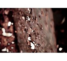 Rusted Metal  Photographic Print