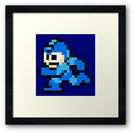 Megaman Sprite by OMacKnight