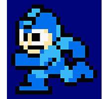Megaman Sprite Photographic Print