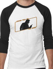 Never Tell Me The Odds! Men's Baseball ¾ T-Shirt