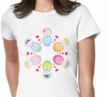 Russian Dolls - Mandala Womens Fitted T-Shirt