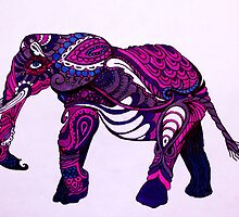 Paisley The Elephant by OhSamantha