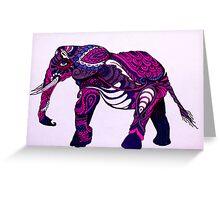 Paisley The Elephant Greeting Card