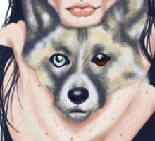 Wolf Mama Sticker