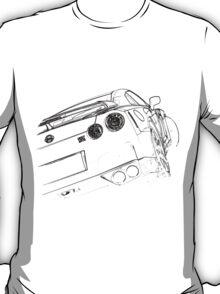 Nissan GTR black T-Shirt
