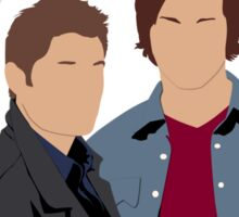 Supernatural - Sam, Dean, Castiel and Crowley Sticker