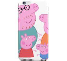Peppa Pig Family Portrait  iPhone Case/Skin
