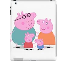 Peppa Pig Family Portrait  iPad Case/Skin
