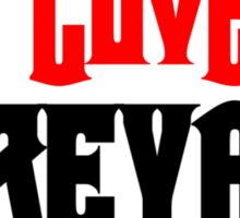 I love Dreyar Lashes Red Sticker