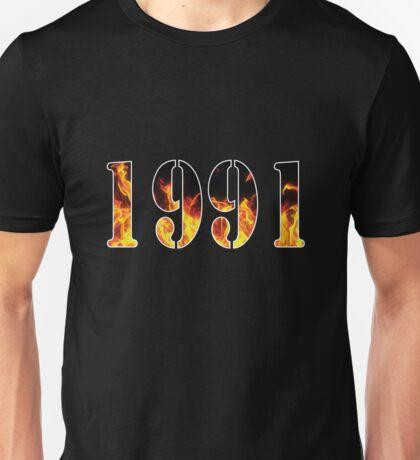 1991 Fire Unisex T-Shirt