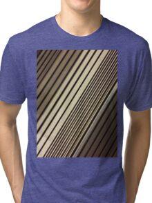 Lumina 6 - Mocha Diagonal Tri-blend T-Shirt