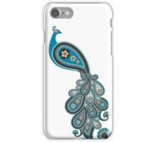 Paisley Peacock 1 iPhone Case/Skin