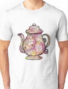 Watercolored Teapot Unisex T-Shirt